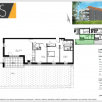 Plan appartement résidence isis
